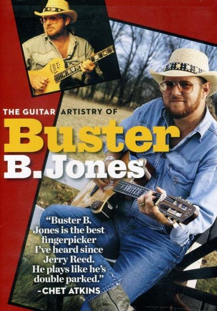 Jones Buster Guitar Artistry Gtr Dvd (Digital Versatile Disc)