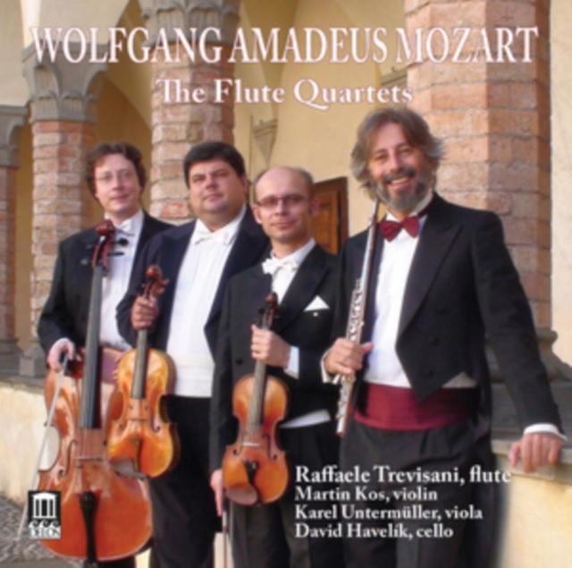 Wolfgang Amadeus Mozart: The Flute Quartets (CD / Album)