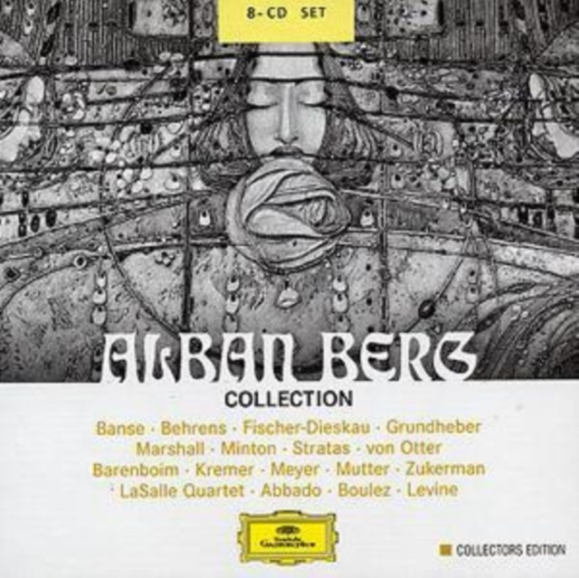Alban Berg Collection (Abbado, Levine, Barenboim, Kremer) (CD / Album)