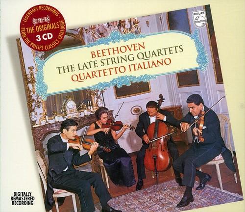 Late String Quartets (Ludwig Van Beethoven) (CD)