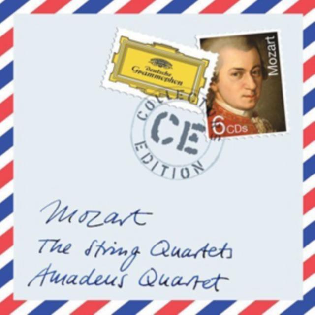 Wolfgang Amadeus Mozart: The String Quartets (CD / Album)