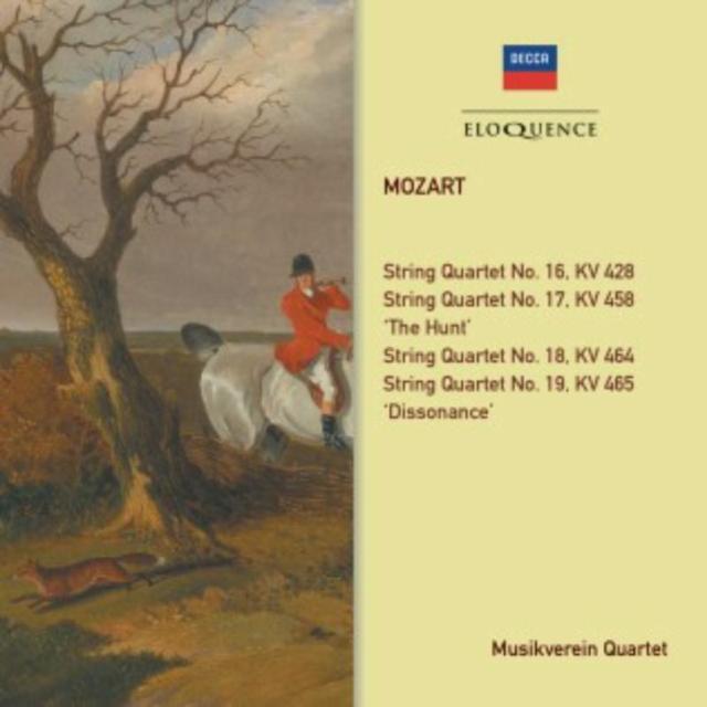 Mozart: String Quartets (CD / Album)
