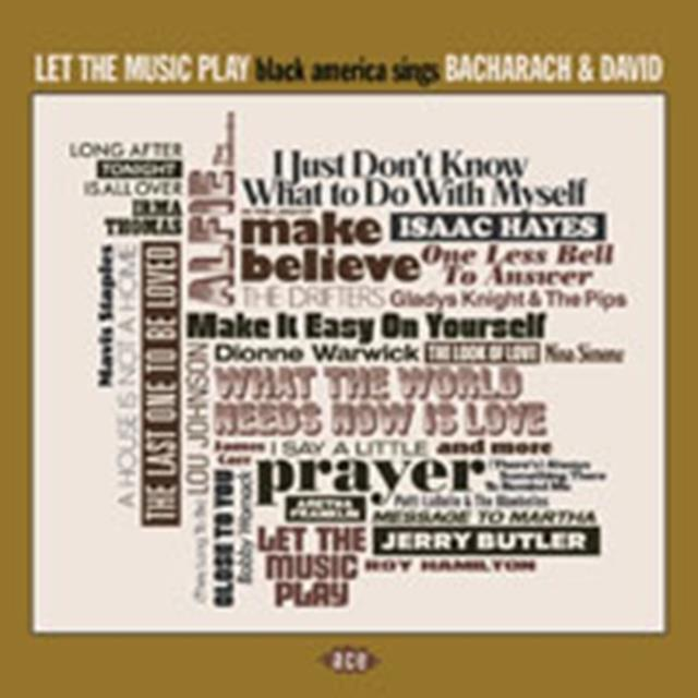 LET THE MUSIC PLAY - BLACK AMERICA SINGS BACHARACH & DAVID (VARIOUS ARTISTS) (CD / Album)