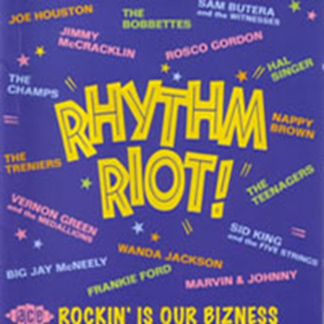 Rhythm Riot! (CD / Album)