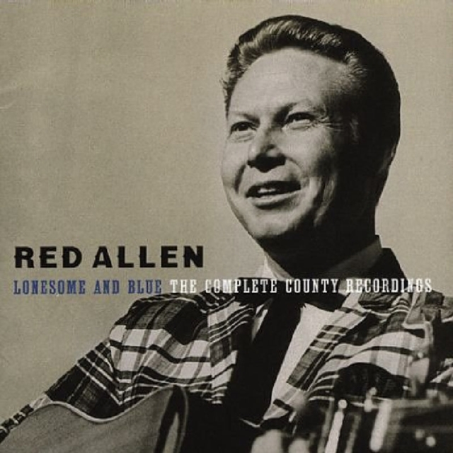 Lonesome and Blue - The Complete County Recordings (Red Allen) (CD / Album)