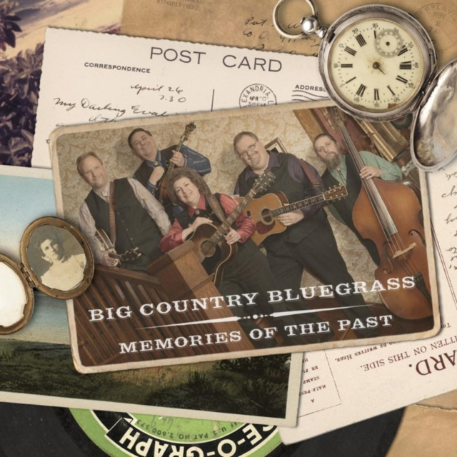 Memories of the Past (Big Country Bluegrass) (CD / Album)