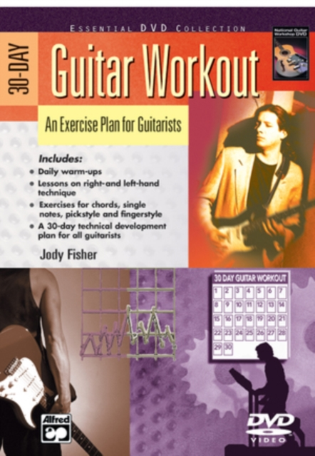 30-day Guitar Workout (DVD)