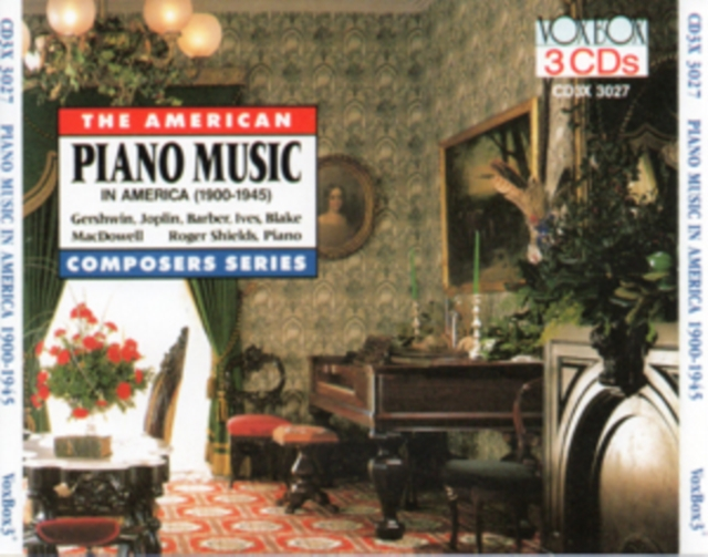 Piano Music in America (CD / Album)