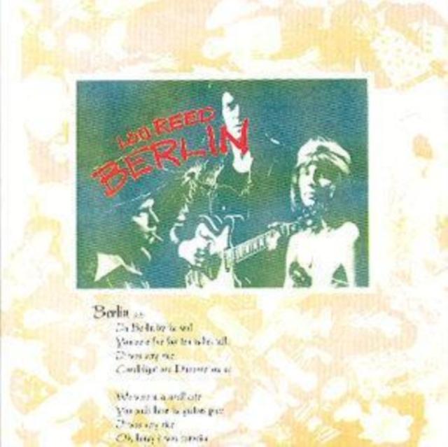 Berlin (Lou Reed) (CD / Album)