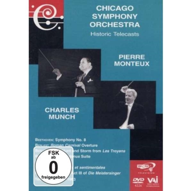 Pierre Monteux/Charles Munch: Chicago Symphony Orchestra (DVD)