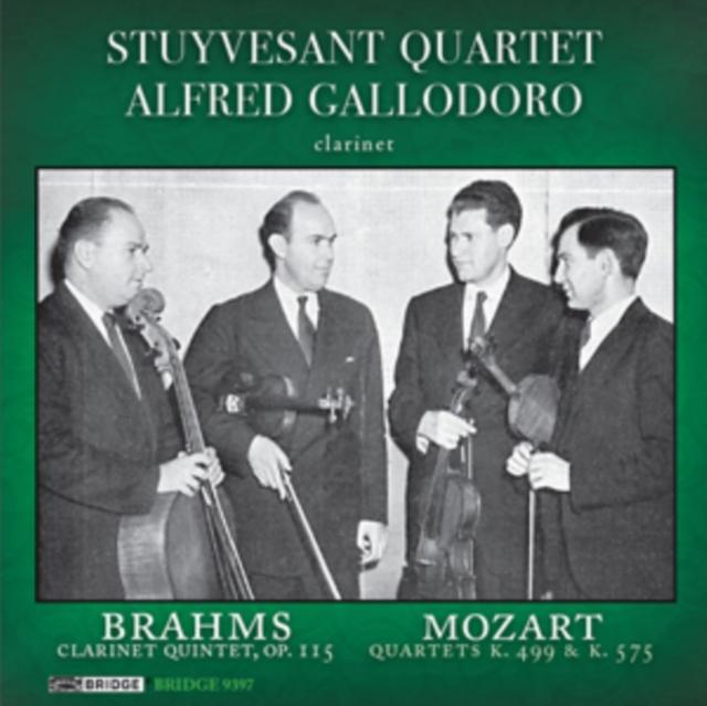Brahms: Clarinet Quintet, Op. 115/Mozart: Quartets, K499 & K575 (CD / Album)