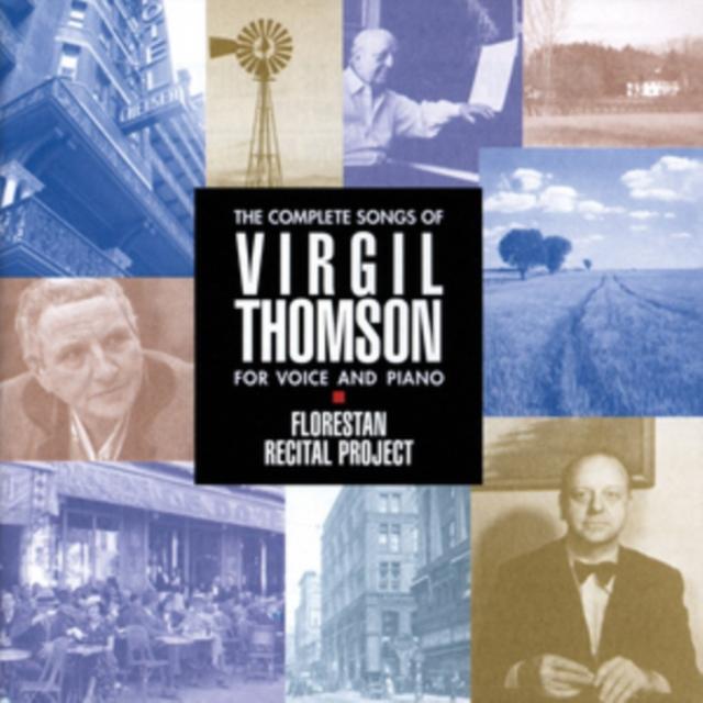 Florestan Recital Project: The Complete Songs of Virgil Thomson.. (CD / Album)