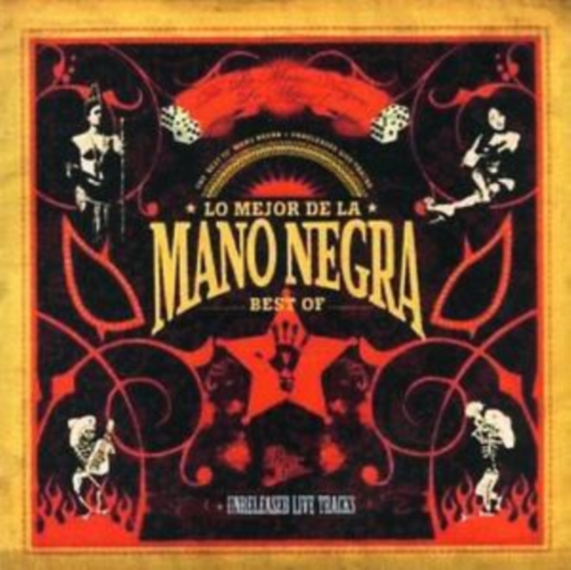 Lo Mejor De La (Best of + Live) [european Import] (Mano Negra) (CD / Album)
