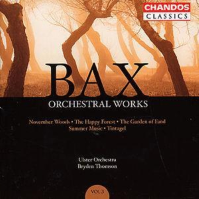 Orchestral Works Vol. 3 (Thomson, Ulster Orchestra) (CD / Album)