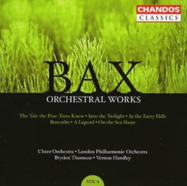 Orchestral Works Vol. 4 (Thomson, Handley, Ulster Orch.) (CD / Album)