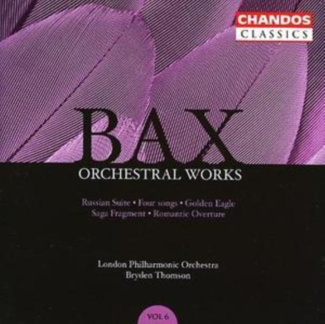 Orchestral Works Vol. 6 (Thomson, Lpo, Fingerhut, Hill) (CD / Album)