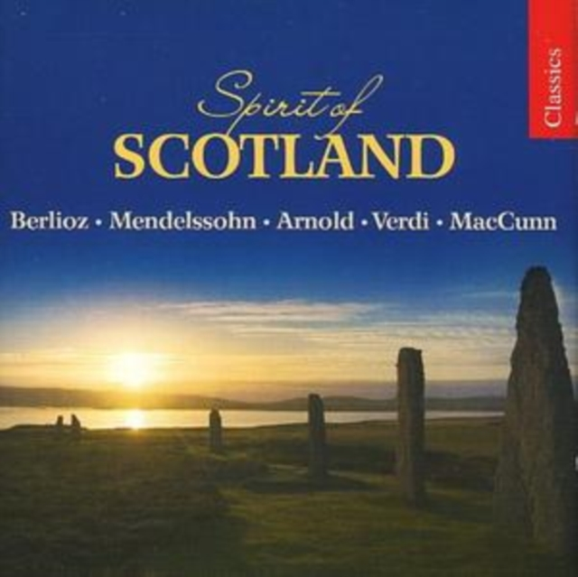 Spirit of Scotland (Thomson, Philharmonia Orchestra) (CD / Album)