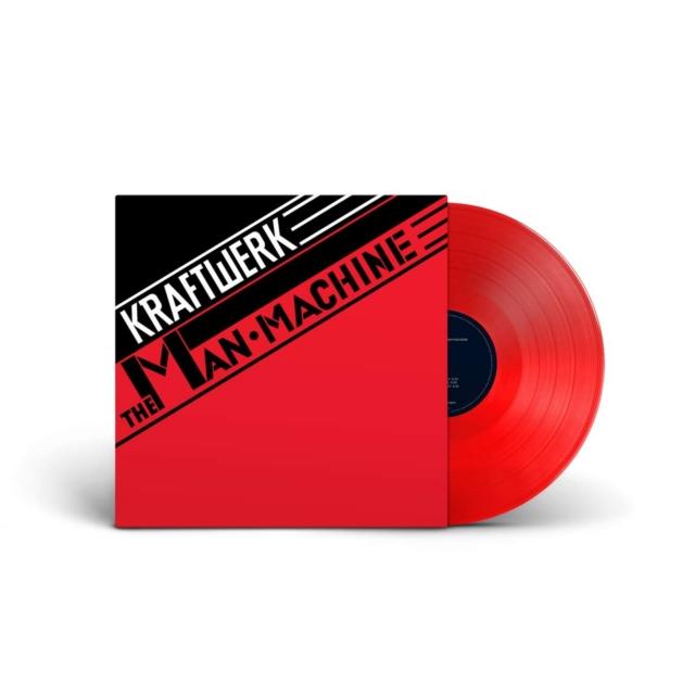 """The Man Machine (Kraftwerk) (Vinyl / 12"""" Album Coloured Vinyl)"""