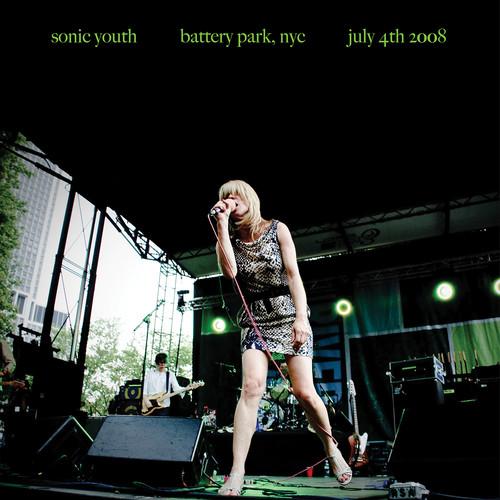 "Battery Park, NYC: July 4th 2008 (Sonic Youth) (Vinyl / 12"" Album)"