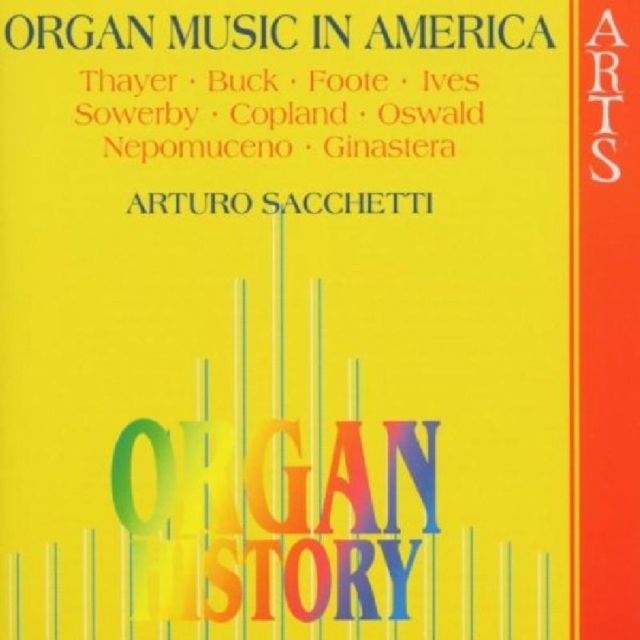 Organ History - Organ Music in America (CD / Album)