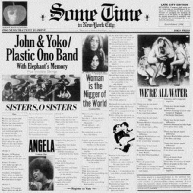 "Some Time in New York City (John Lennon and Yoko Ono) (Vinyl / 12"" Album)"
