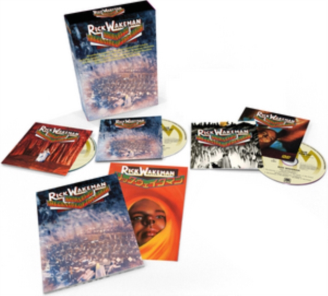 Journey to the Centre of the Earth (Rick Wakeman) (CD / Album with DVD)