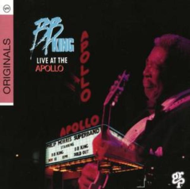 Live at the Apollo (B.B. King) (CD / Album)
