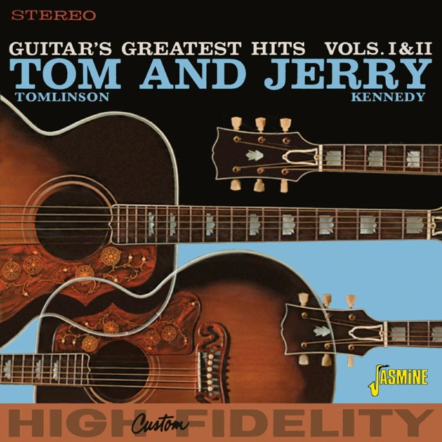 Guitar's Greatest Hits (Tom Tomlinson & Jerry Kennedy) (CD / Album)