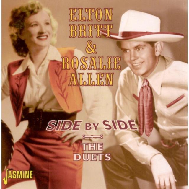 Side By Side (Elton Britt & Rosalie Allen) (CD / Album)
