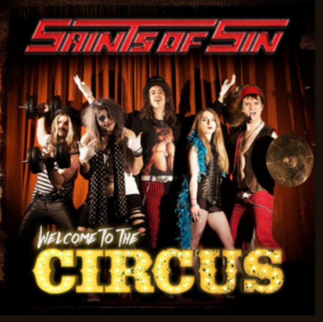 Welcome to the Circus (Saints of Sin) (CD / Album)