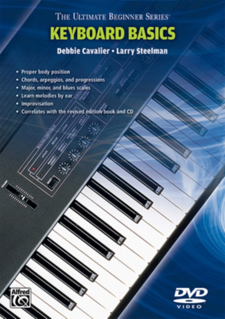 Ultimate Beginner: Keyboard Basics - Steps 1 and 2 (DVD)