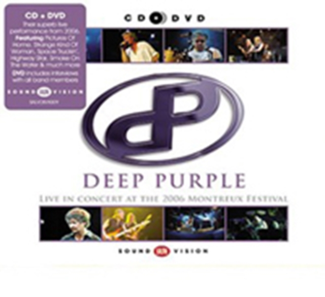 Live at Montreux 2006 (Deep Purple) (CD / Album with DVD)