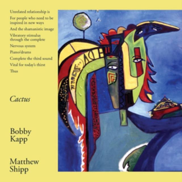 Cactus (Bobby Kapp & Matthew Ship) (CD / Album)