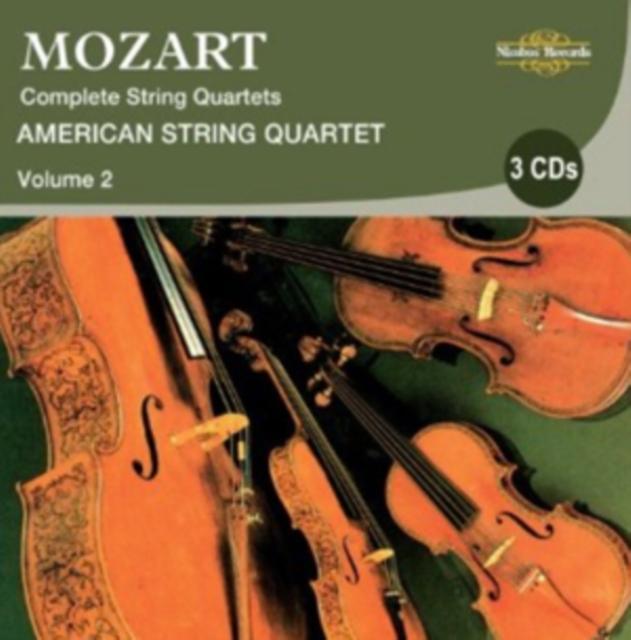 Wolfgang Amadeus Mozart: Complete String Quartets (CD / Album)