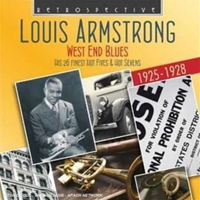 West End Blues - Hot Fives and Hot Sevens (Louis Armstrong) (CD / Album)