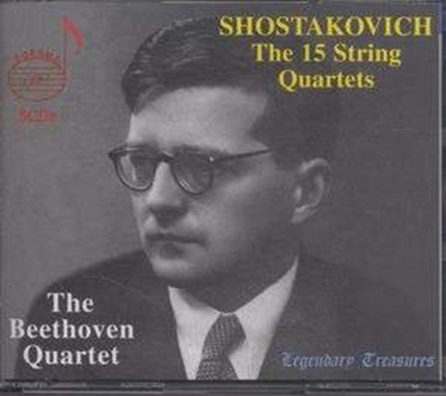 15 String Quartets, The (Beethoven Quartet) (CD / Album)