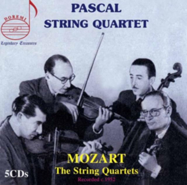 Mozart: The String Quartets (CD / Album)