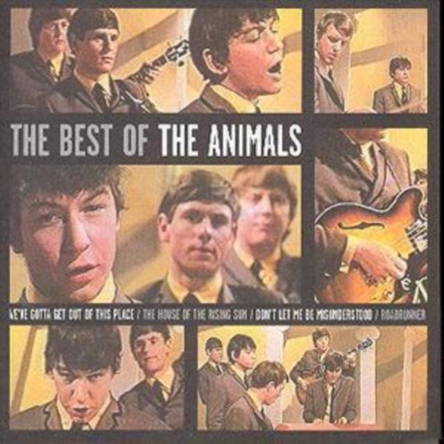 Best Of The Animals (The Animals) (CD / Album)