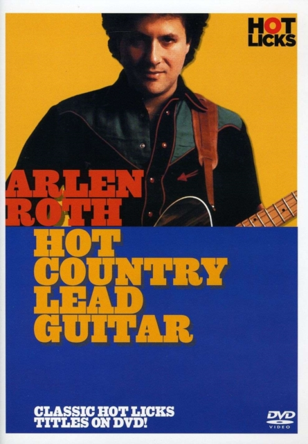 Arlen Roth Hot Country Lead Guitar Dvd (Digital Versatile Disc)