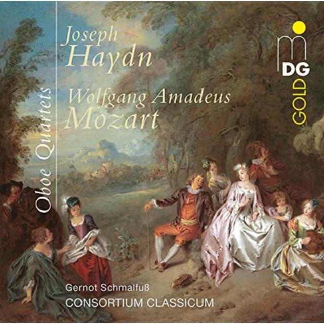 Joseph Haydn/Wolfgang Amadeus Mozart: Oboe Quartets (CD / Album)
