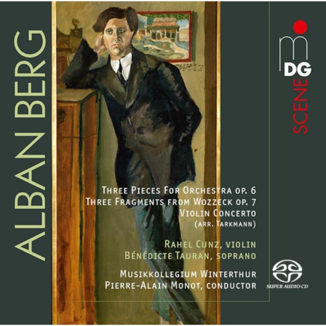 Alban Berg: Three Pieces for Orchestra, Op. 6 (CD / Album)