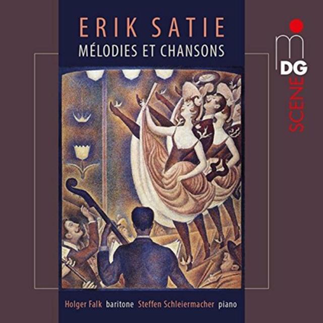 Levně Erik Satie: Melodies Et Chansons (CD / Album)