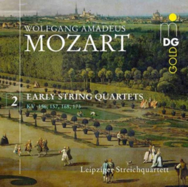 Wolfgang Amadeus Mozart: Early String Quartets (CD / Album)