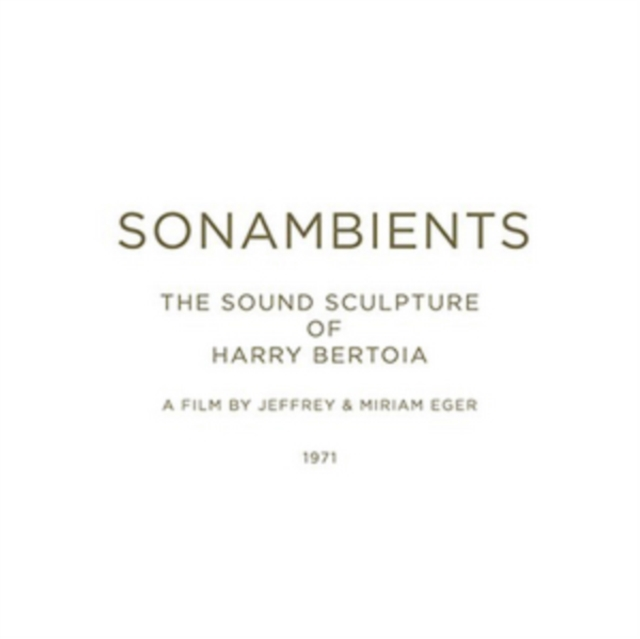 Sonambients (Harry Bertoia) (CD / Album with DVD)