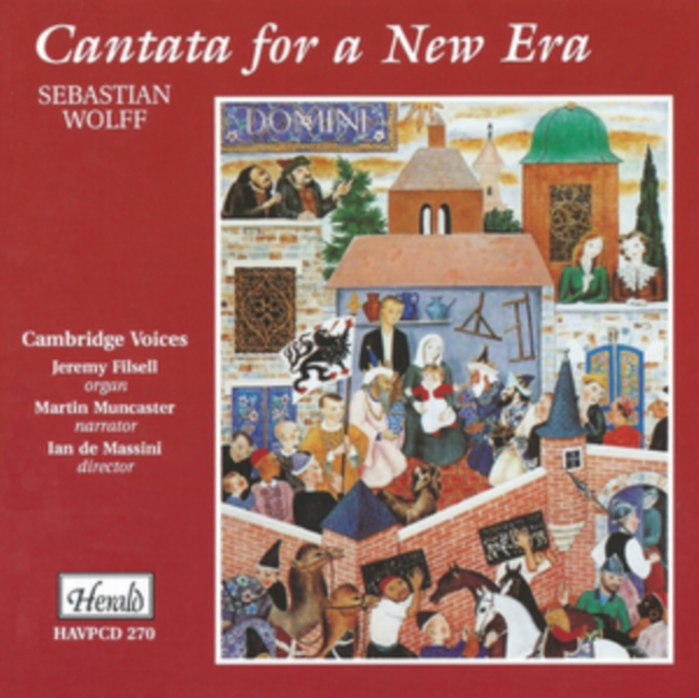 Cantata For A New Era Wolff (CD / Album)