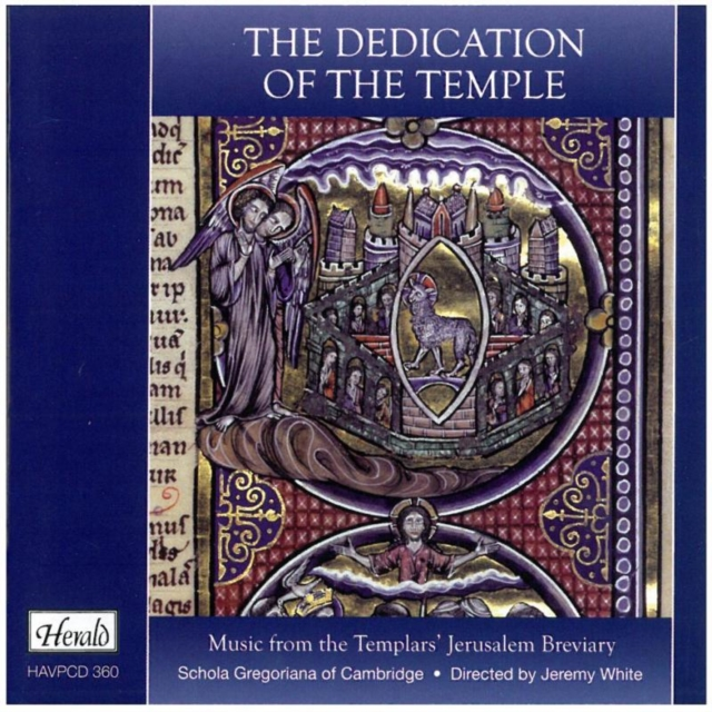 The Dedication of the Temple (CD / Album)