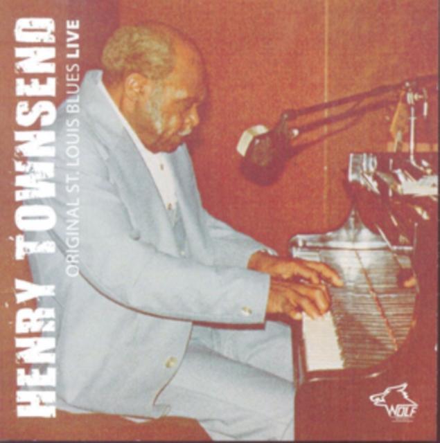 Original St. Louis Blues Live (Henry Townsend) (CD / Album)