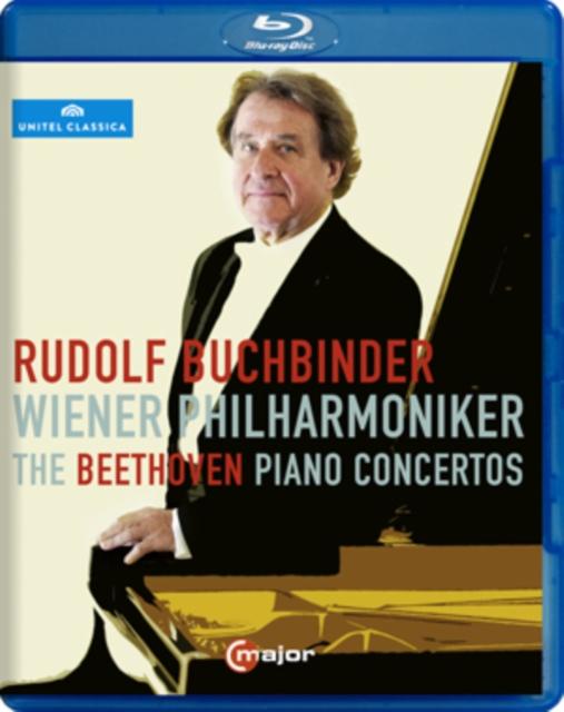 Beethoven piano concertos 1-5: Wiener Philharmonic (Buchbinder) (Blu-ray)
