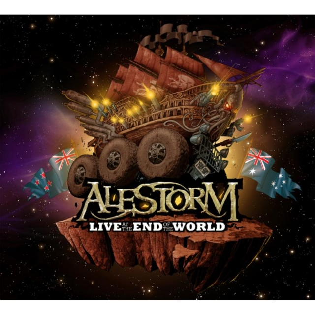 Live at the End of the World (Alestorm) (CD / Album with DVD)
