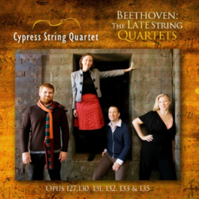 Beethoven: The Late String Quartets (CD / Album)